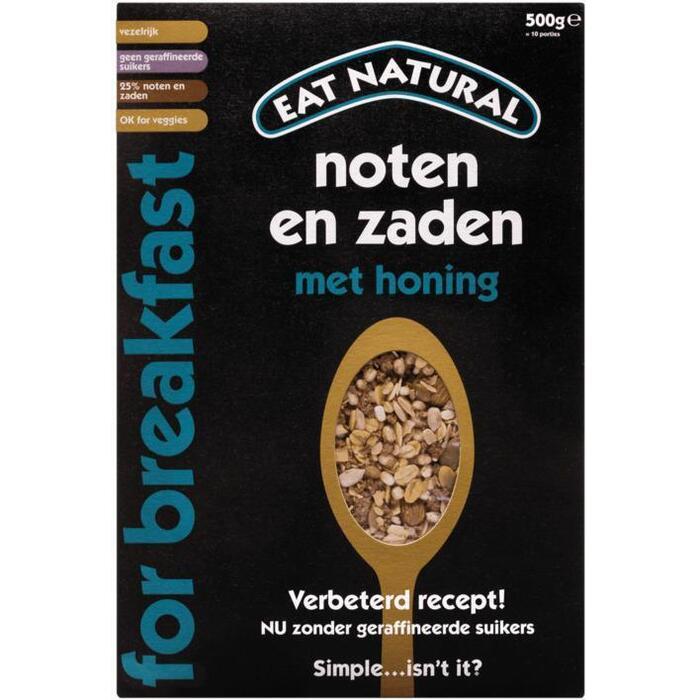 Eat Natural Noten & zaden (500g)