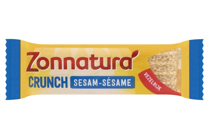 Sesam crunch reep (reep, 3 × 16.7g)
