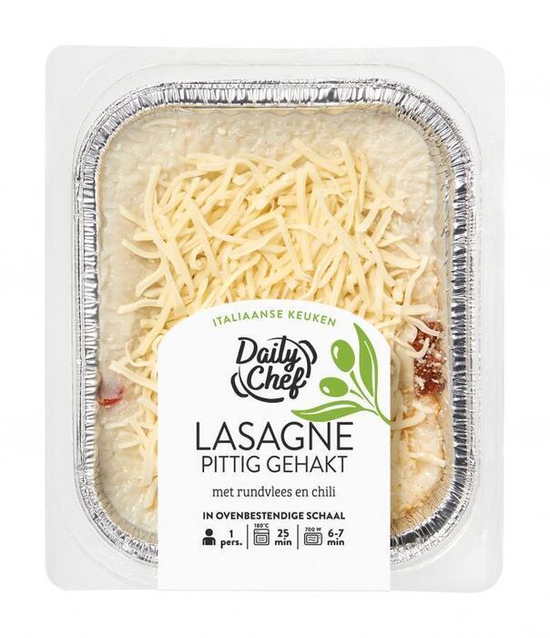 Lasagne pittig (400g)