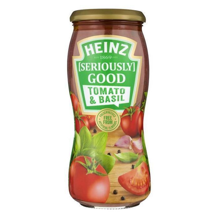 Pastasaus tomato & basil (Stuk, 490g)