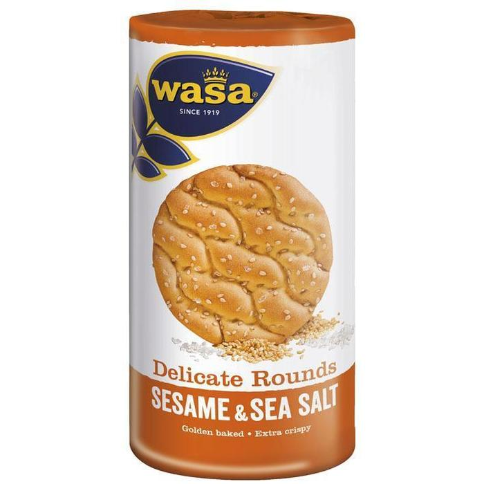 Wasa Delicate rounds sesame & seasalt (20 × 290g)