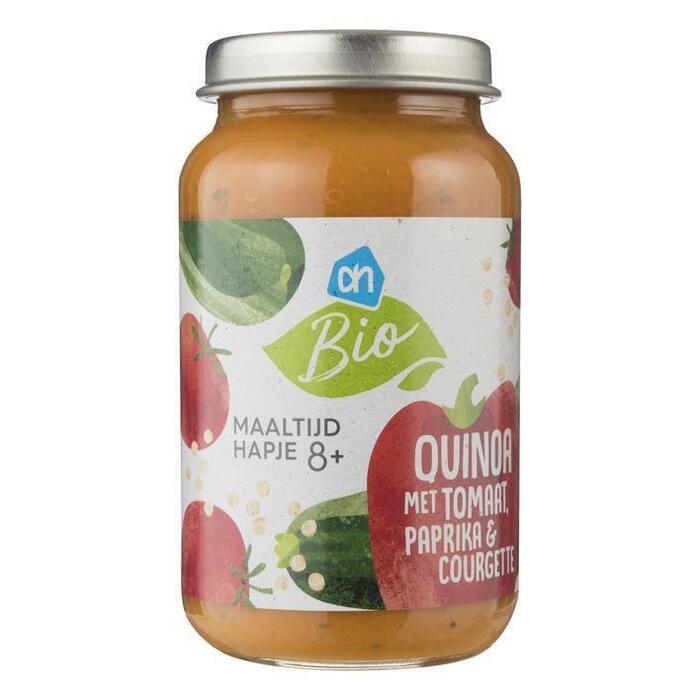 AH Biologisch Quinoa met tomaat paprika courgette 8m07 (220g)