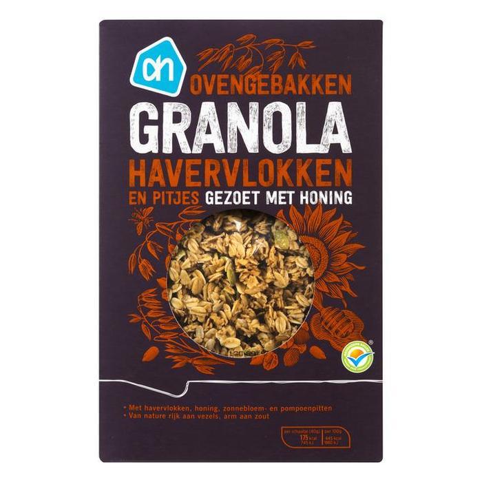 Ovengebakken Granola Havervlokken (doos, 350g)