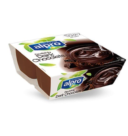 Dessert Dark chocolate flavour (bak, 4 × 0.5L)
