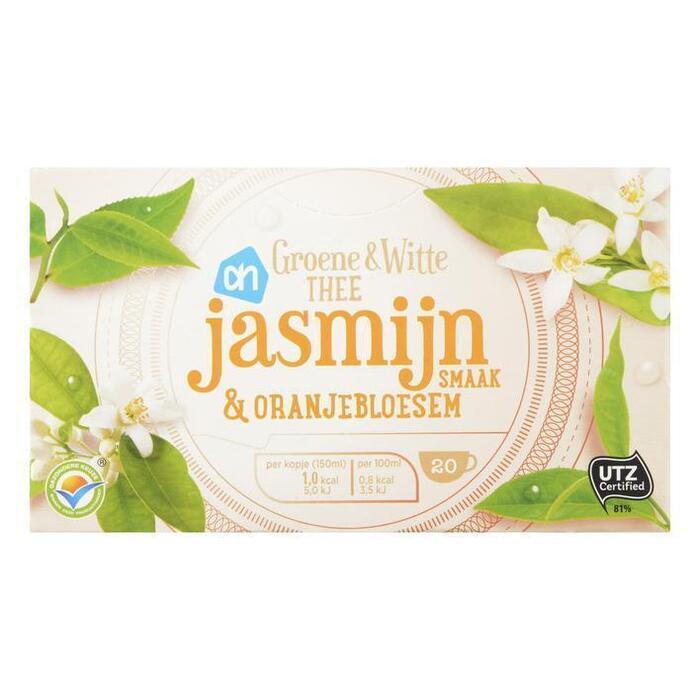 AH Grn & witte thee jasmijn & oranjebloesem