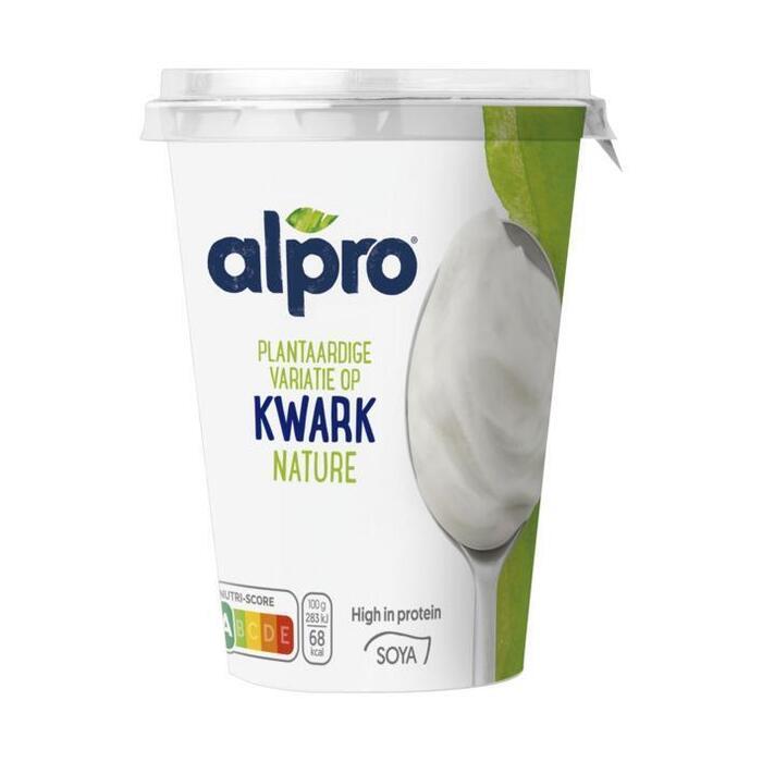 Alpro Plantaardige variatie op kwark naturel (400g)