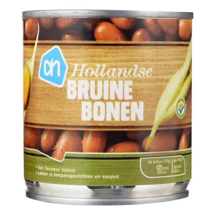 Hollandse bruine bonen (blik, 200g)