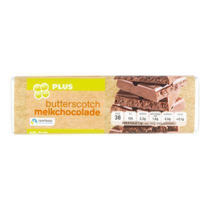 Chocoladereep butterscotch fairtrade (100g)