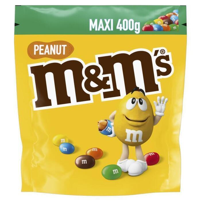 M&M Peanut Maxi (zak, 400g)