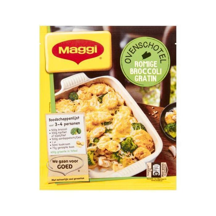 Maggi Ovenschotel romige broccoli gratin (43g)