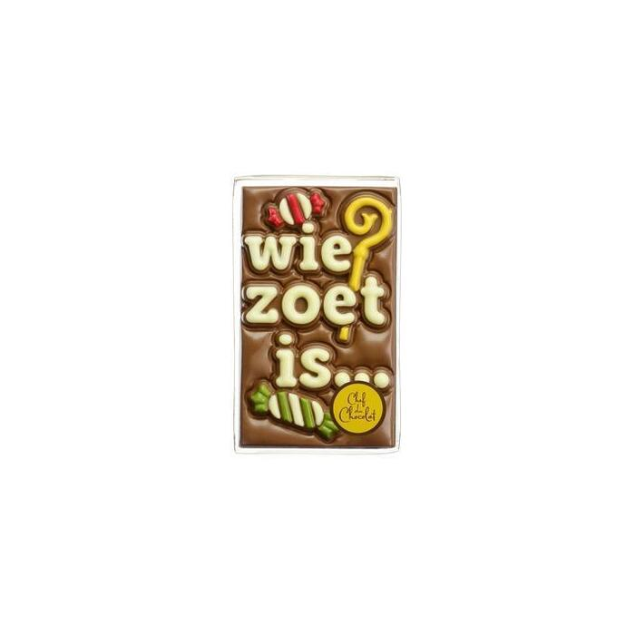 Chef du Chocolat Chocolade tablet wie zoet is (150g)