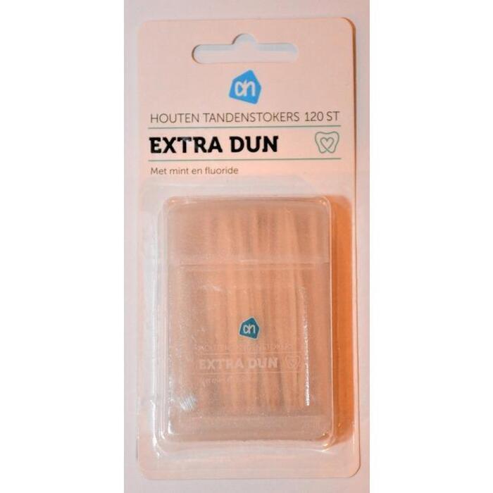 AH Houten tandenstokers extra dun