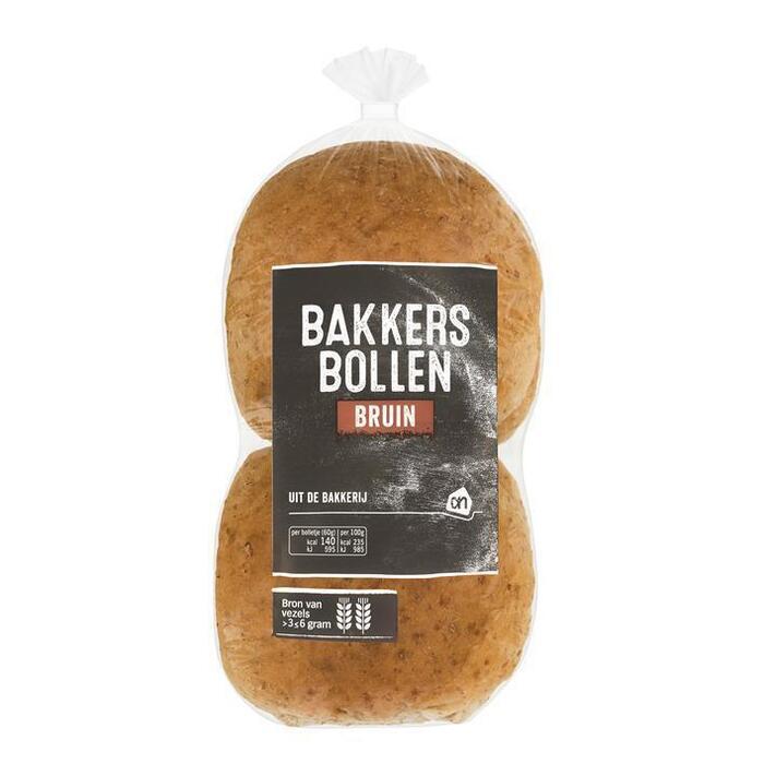 AH Bakkersbollen bruin (4 st.)