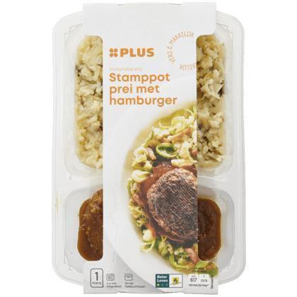 Stamppot prei,spekjes,stroganoffburger (500g)
