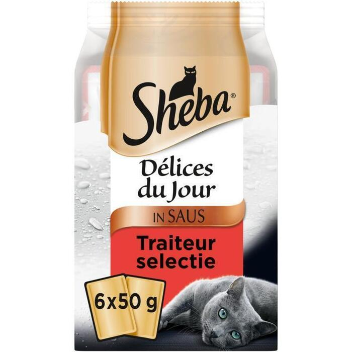 Sheba Delices du jour traiteur (6 × 300g)