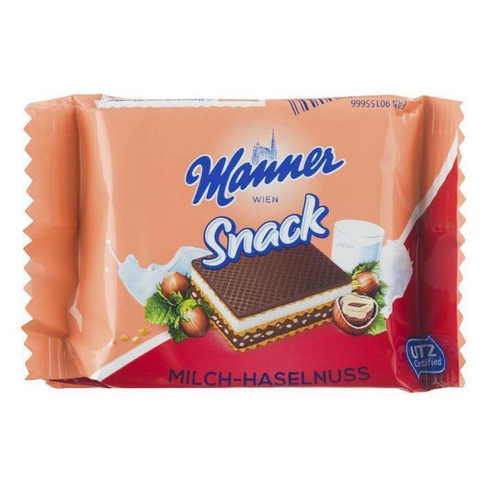 Manner Milk-hazelnut wafer (125g)