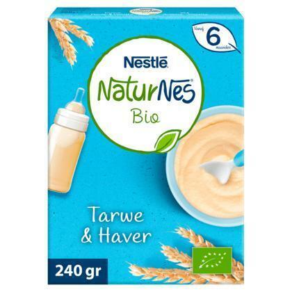 Nestlé Bio Tarwe & Haver Vanaf 6 Maanden 240 g (240g)