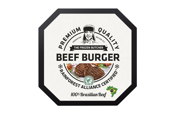 The Frozen Butcher Beef burger 100% Brazilian beef (2 × 125g)