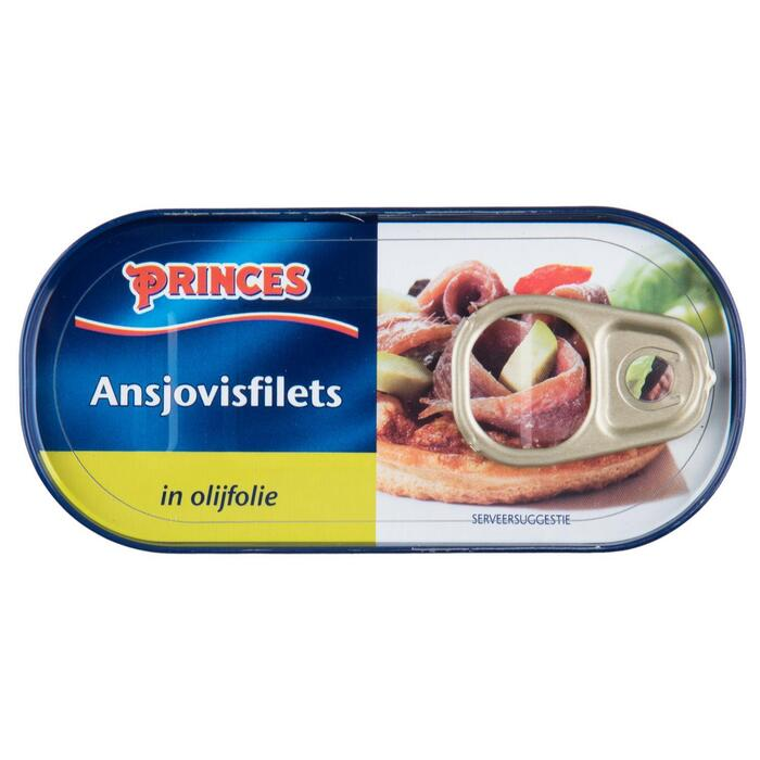 Ansjovisfilets in olie (blik, 46g)