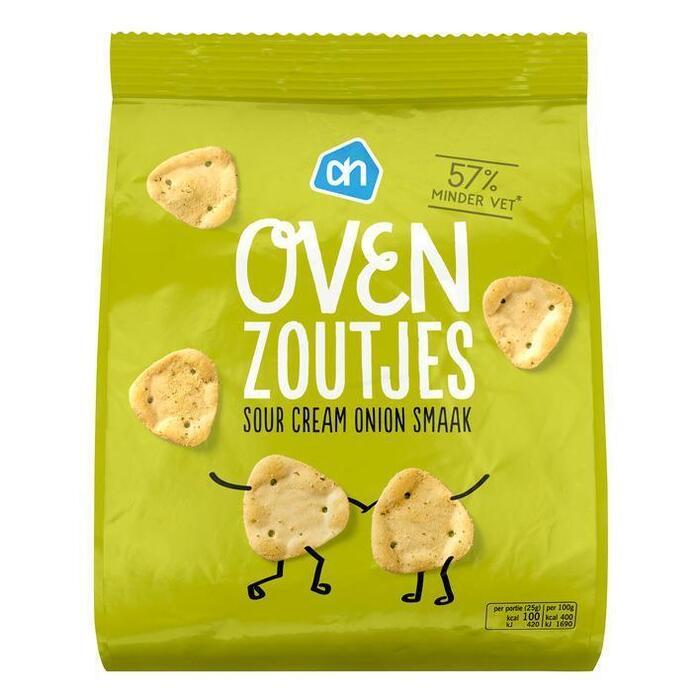 Zoutjes uit de oven sour cream-onion (zak, 125g)