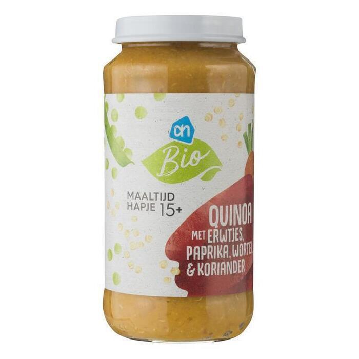 AH Biologisch Quinoa met erwt paprika en wortel 15m04 (250g)