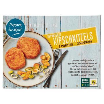 Passion for Meat Gepaneerde Kipschnitzels 250 g (250g)