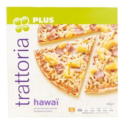 Pizza trattoria Hawaii (355g)