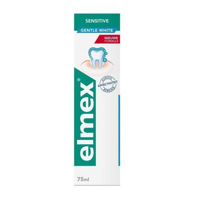 Elmex Sensitive + whitening tandpasta (75ml)