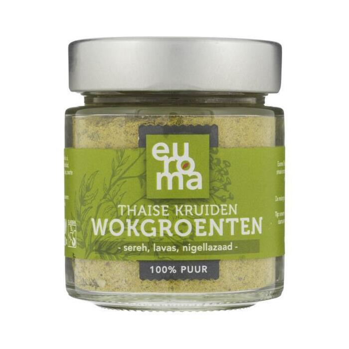 Euroma Thaise wok groente kruiden (62g)