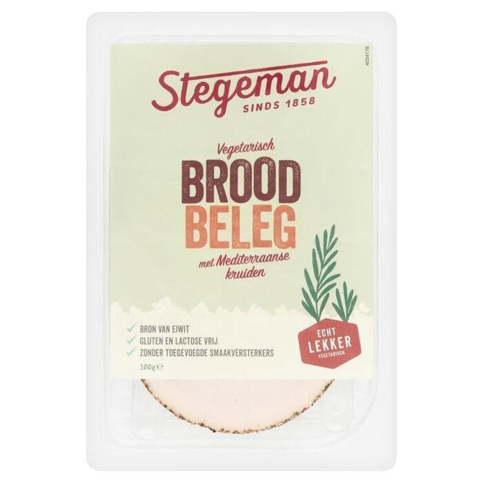 Stegeman Vegetarische Specialiteit Mediterraans 100 g (100g)