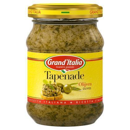 Grand'aperitivo, Tapenade Olive (Pot, 140g)