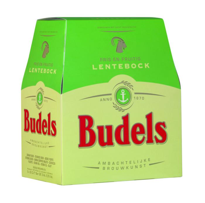 Budels Lentebock 6x30cl. (6 × 30cl)