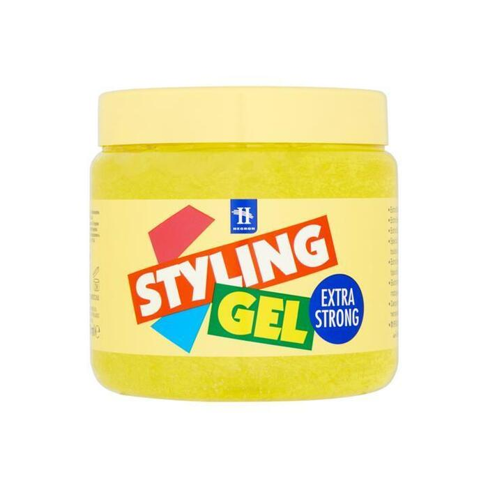 Hegron Styling Gel Extra Strong 1000 ml (Stuk, 1L)