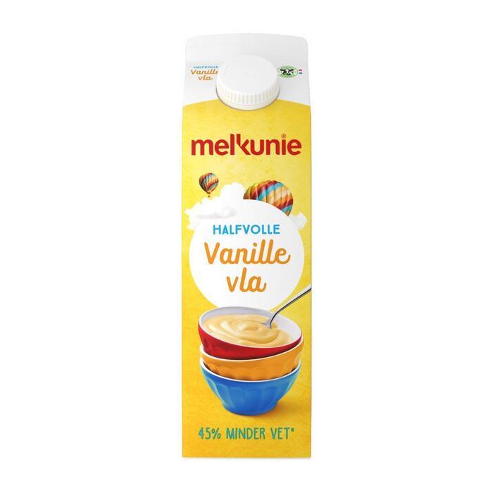 Vanille Vla Halfvol (pak, 1L)