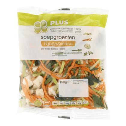Soepgroenten fijngesneden (150g)