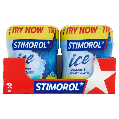 Stimorol Ice Peppermint Flavour Sugar Free 6 x 80 g (80g)