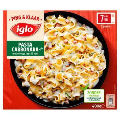 Ping en klaar pasta carbonara (400g)