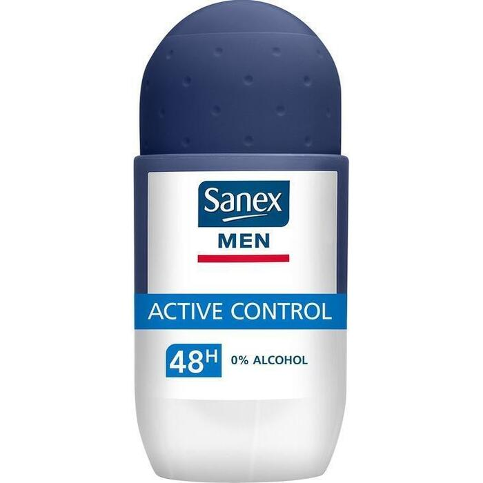 Sanex Men Active Control Anti Transpirant Deodorant Roller 50 ml (50ml)