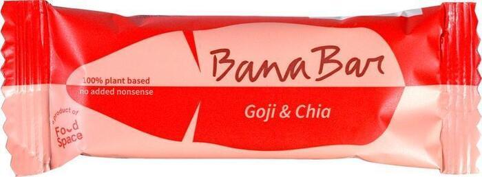 Goji & Chia banana bar (40g)