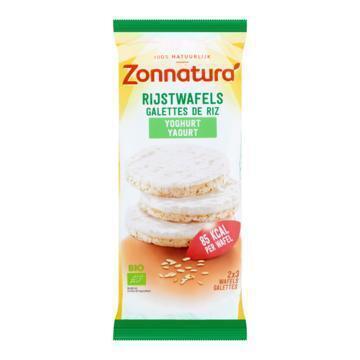 Yoghurt Rijstwafels (Stuk, 100g)