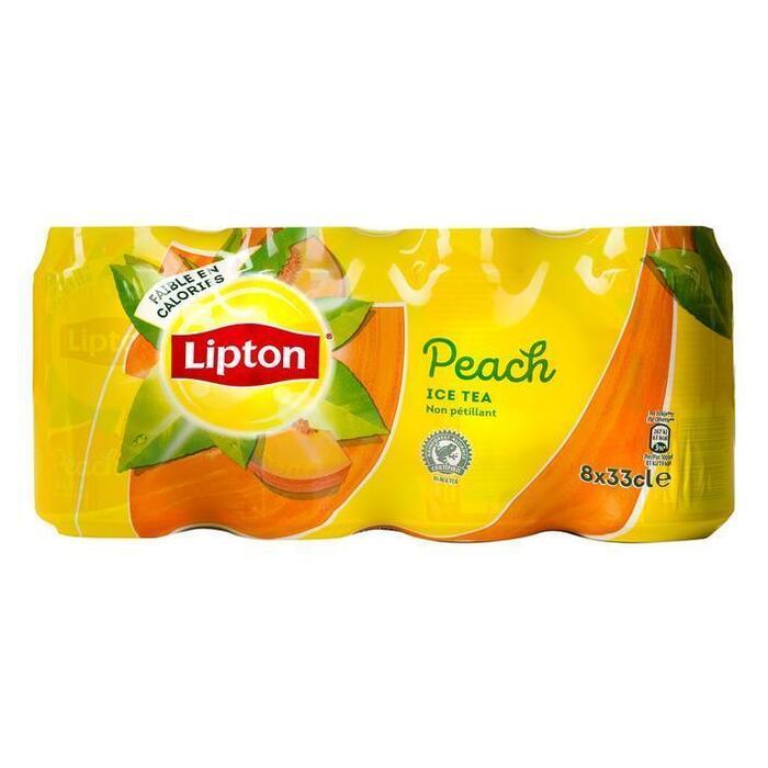 Lipton Ice tea perzik (8 × 33cl)