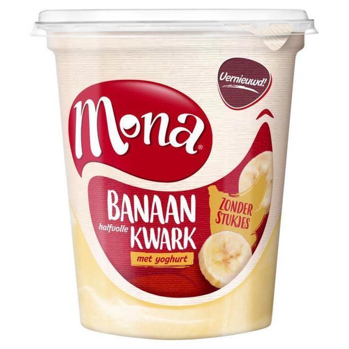 Kwark halfvol banaan (667g)