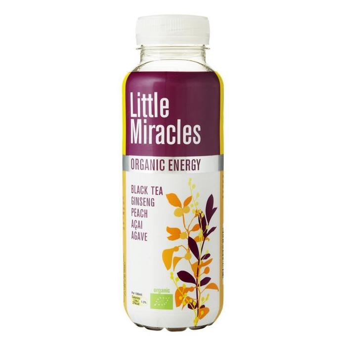 Little Miracles Black Tea & Ginseng (petfles, 33cl)