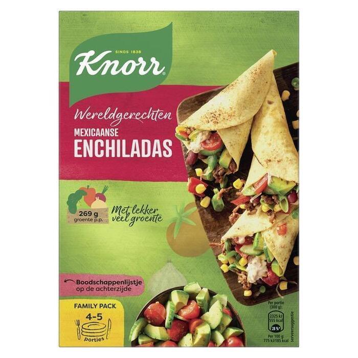 Knorr Wereldgerechten Enchilada 329 g (doos, 329g)