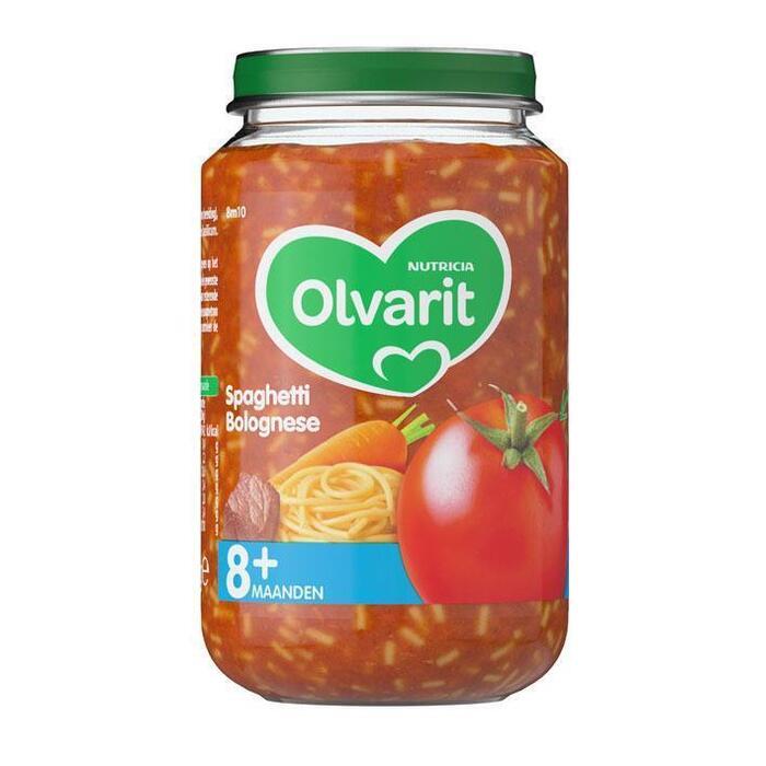Spaghetti bolognese 8 mnd (Stuk, 200g)