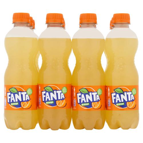 Fanta Lemon 12 x 500 ml (0.5L)