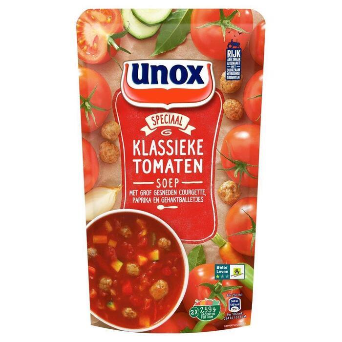 Klassieke tomatensoep (plastic zak, 0.57L)