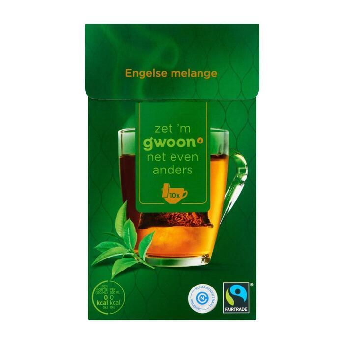 g'woon Engelse melange zwarte thee (25g)