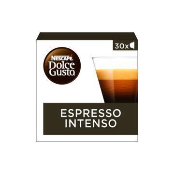 Nescafé Dolce Gusto Espresso Intenso 30 x 7 g (doos, 30 × 7g)