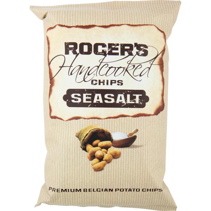 Roger's Handcooked chips seasalt (150g)